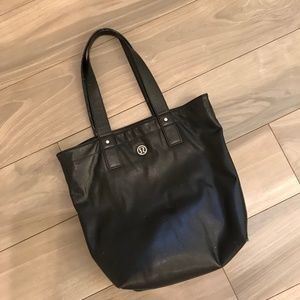 Lululemon Mantra Tote Bag Black Reversible USED